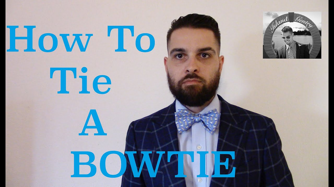 How to tie a bowtie like a boss youtube how to tie a bowtie like a boss ccuart Image collections