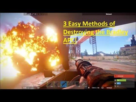 3 Easy Ways To Destroy The Bradley APC In Rust