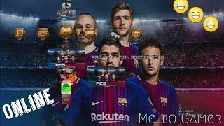 PES 2018 | Jogando pela primeira vez já online - PS3