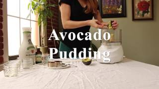 Make Avocado Pudding