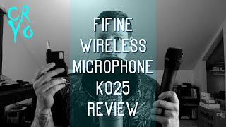 Fifine Wireless Microphone K025 Review [Gear Review]