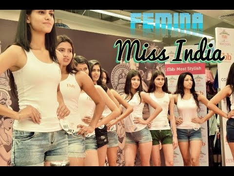 FBB Colors Femina Miss India 2017 Chandigarh India Auditions Unedited