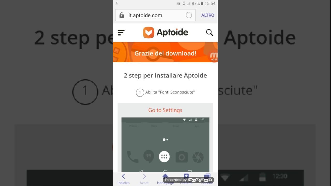 Come scaricare Aptoide | Salvatore Aranzulla