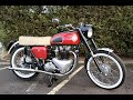 1955 Ariel Cyclone 650cc Twin Classic British Motorcycle for Sale