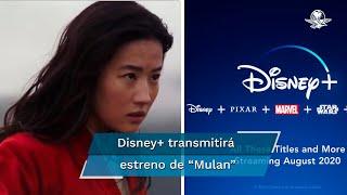 """Tras seis meses de aplazamientos, Disney no estrenará la nueva versión de """"Mulan"""" en cines"""