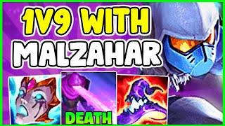 HOW TO EASILY WÏN ON MALZAHAR MID & CARRY IN SEASON 11   Malzahar Guide S11 - League Of Legends
