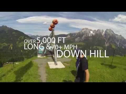 Flying Fox XXL- Leogang, Austria GoPro