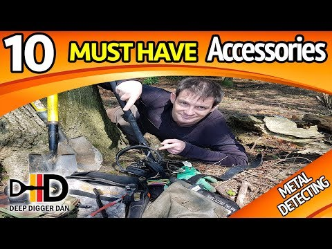 10 Must Have Metal Detecting Accessories