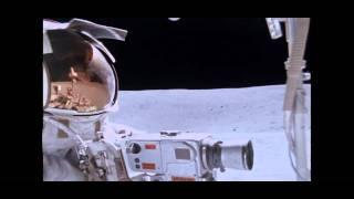 """Apollo 16 lunar rover """"Grand Prix"""" in HD"""