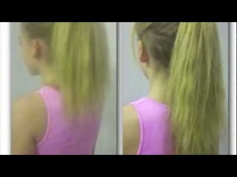 HOW TO MAKE YOUR HAIR LOOK LONGER NO HAIR EXTENSIONS YouTube