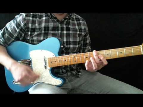 Glorious Ruins Hillsong Live Lead Guitar Tutorial