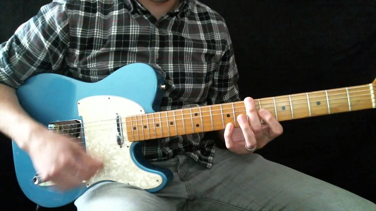 Glorious Ruins Hillsong Live Lead Guitar Tutorial Youtube