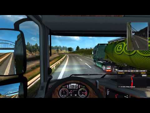 ETS2 Log 4 Magdeburg Germany to Rostock Germany