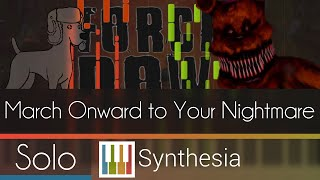 March Onward to Your Nightmare - DA Games -- Synthesia HD
