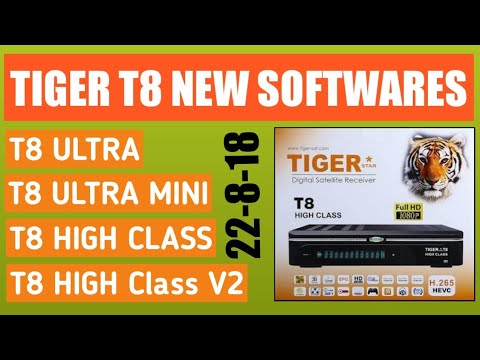 Tiger T8 Sony New Power VU Softwares : LightTube