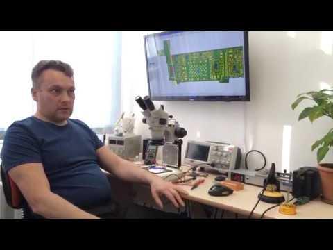 Обучение пайке микросхем Iphone. Отзыв Бориса из Набережных Челнов