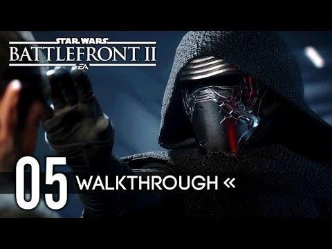 STAR WARS: Battlefront 2 | Story Campaign Walkthrough | PART 5 - Jakku / Epilogue 【ENDING】