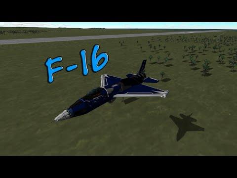 KSP Stock - F-16 Replica Showcase (+Download!)