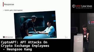 #HITBCyberWeek D2T2 - CyptoAPT: APT Attacks On Crypto Exchange Employees - Heungsoo Kang