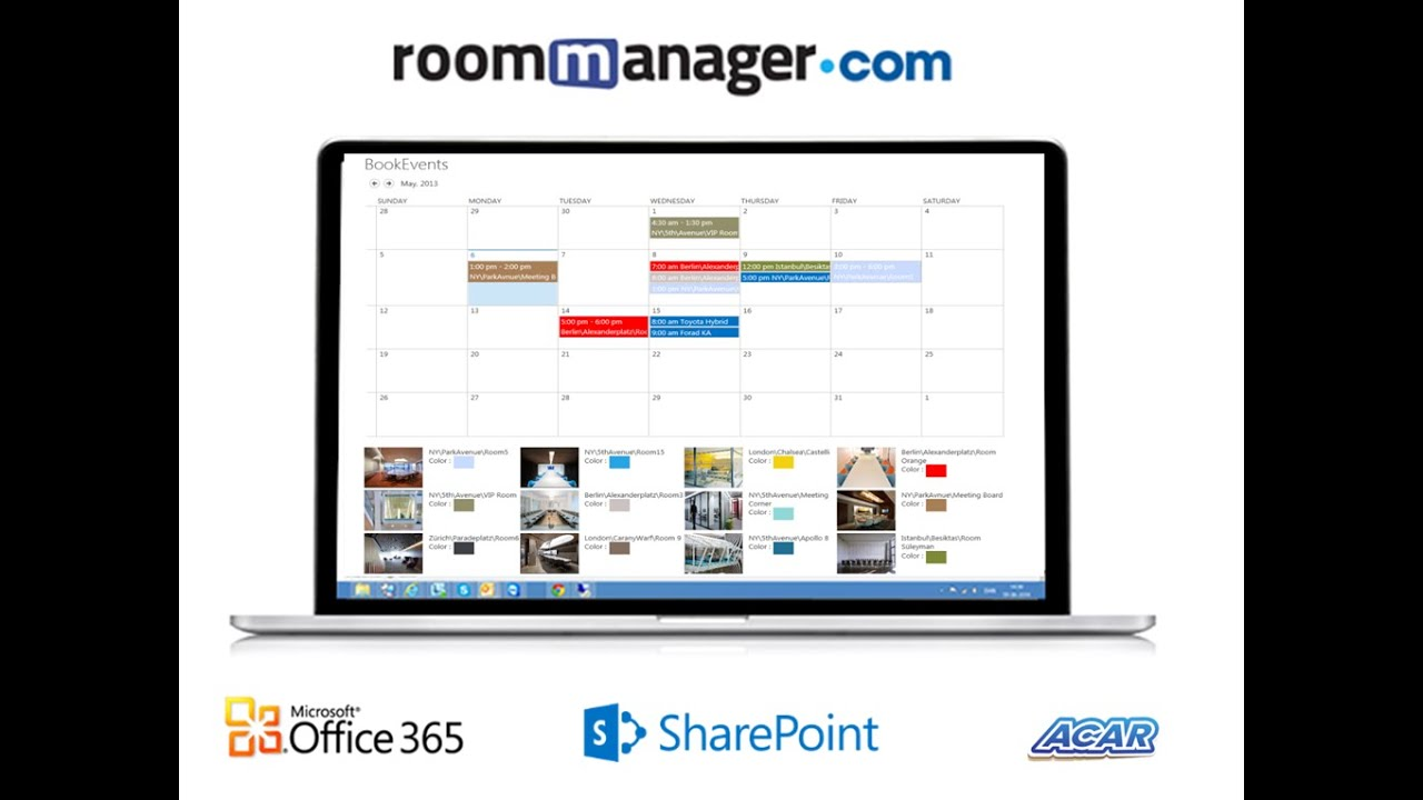 Room Scheduling With Outlook And Office365 And Sharepoint