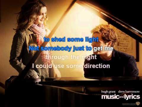 Hugh Grant and Haley Bennett - Way back into love karaoke with lyrics