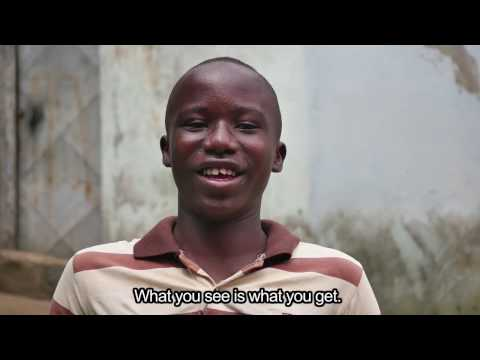 Wilfried, a young reporter from Ivory Coast tackles tough issues