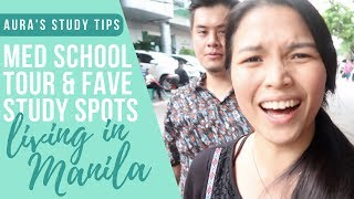 PLM College of Medicine CAMPUS TOUR (+ Our Fave Study Spots in Manila)