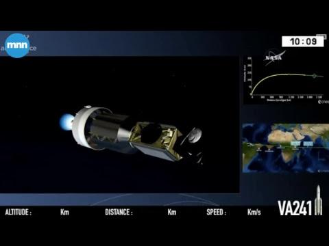 Live NASA Satellite Launch GOLD mission