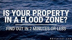 Is Your Property In A Flood Zone? Find Out In 2 Minutes Or Less.
