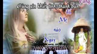 Tình Khúc Xin Vâng - karaoke playback - http://songvui.org