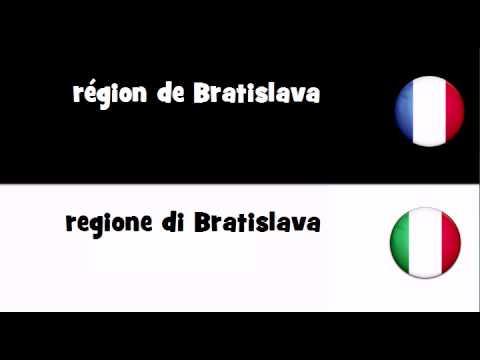 Dites le en 20 langues # région de Bratislava