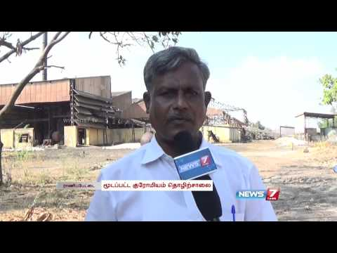 Chromium-bearing waste polluting groundwater and Pallaru in Ranipet