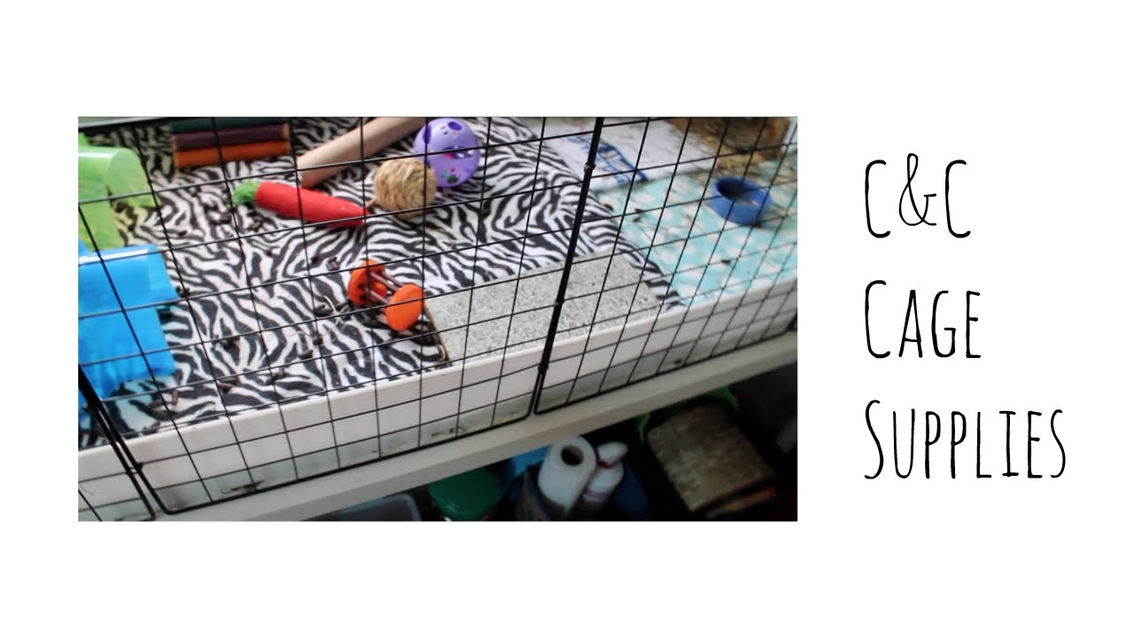 Where to get supplies for a c c cage youtube for Making a c c cage