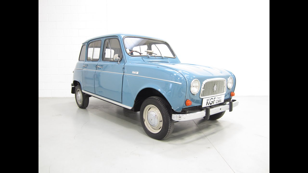 hight resolution of a stylish and original series one renault 4 in a wonderful preserved condition sold