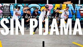 Download SIN PIJAMA by Becky G ft Natti Natasha | Zumba | Latin Pop | Kramer Pastrana Mp3 and Videos