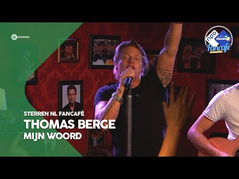 Thomas Berge - Mijn woord | Sterren NL Fancafé