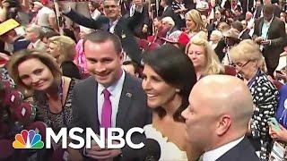 Gov. Nikki Haley: 'Of Course' I Will Vote For Donald Trump | MSNBC