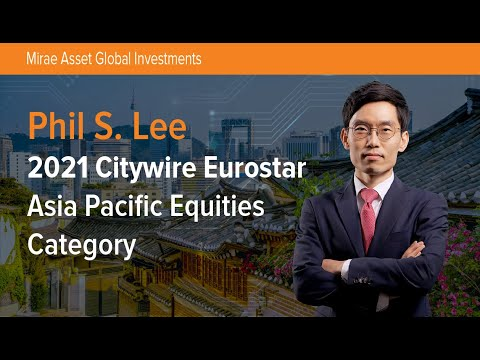 2021 Citywire Eurostar - Asia Pacific Equity Category