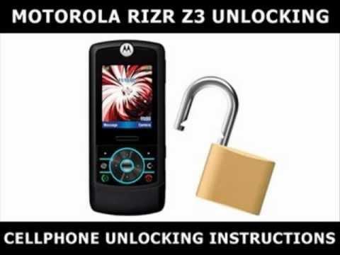 How to Unlock Any Motorola RIZR Z3 Using an Unlock Code
