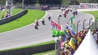Moto GP Red Bull Ring Spielberg Austria, 1st lap