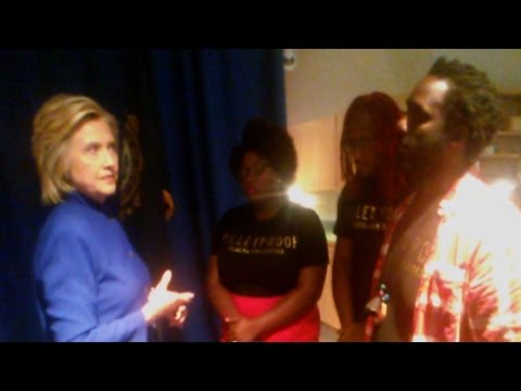 When Black Lives Matter Met Clinton: Activists Speak Out on Challenging Candidate over Crime Record