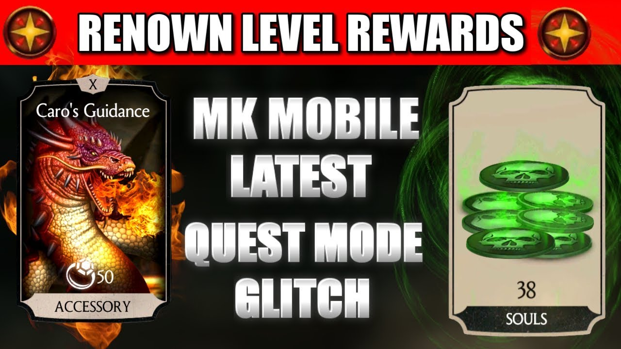 MK Mobile Glitch  MK Mobile Quest Mode Glitch  Get Maximum MK Souls and  Caro's Guidance  MK Mobile