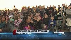 Groundbreaking at new Corona de Tucson school