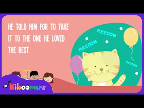 The Cat Came Back Lyrics | The Cat Came Back Song | The Kiboomers