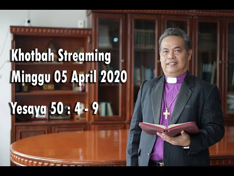 GMI Wilayah - I Khotbah Streaming Minggu 05 April 2020