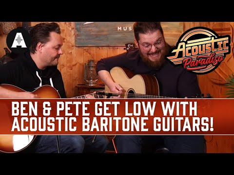 Songs You SHOULDN'T Play In A Guitar Store - Acoustic Baritone Edition!