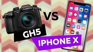 iPhone X vs GH5   СРАВНИВАЕМ КАМЕРЫ