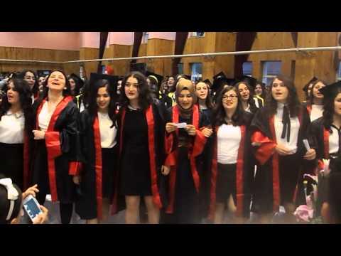 Bulancak Kız Meslek Lisesi 2014 mezuniyet töreni -5 Mezuniyet müziği