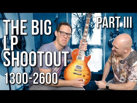 The Big Les Paul Shootout Part III - Guitars From €1300 To €2600
