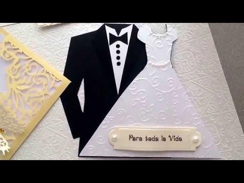 Tarjetas De Invitacion Para Bodas Cristianas Youtube